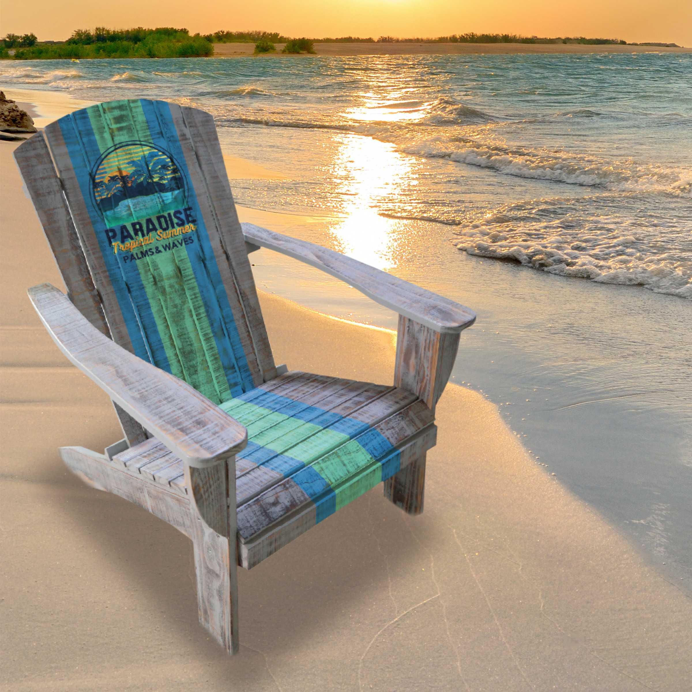 ADIRONDACK CHAIR, BEACH