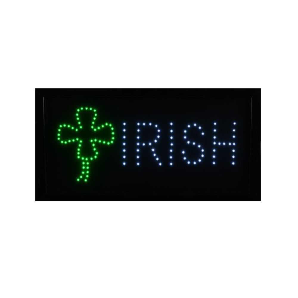 Irish LED Sign