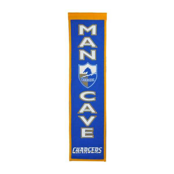 Los Angeles Chargers Man Cave Banner