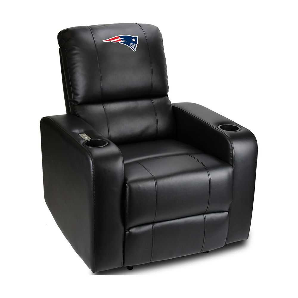 New England Patriots Power Theater Recliner With Usb