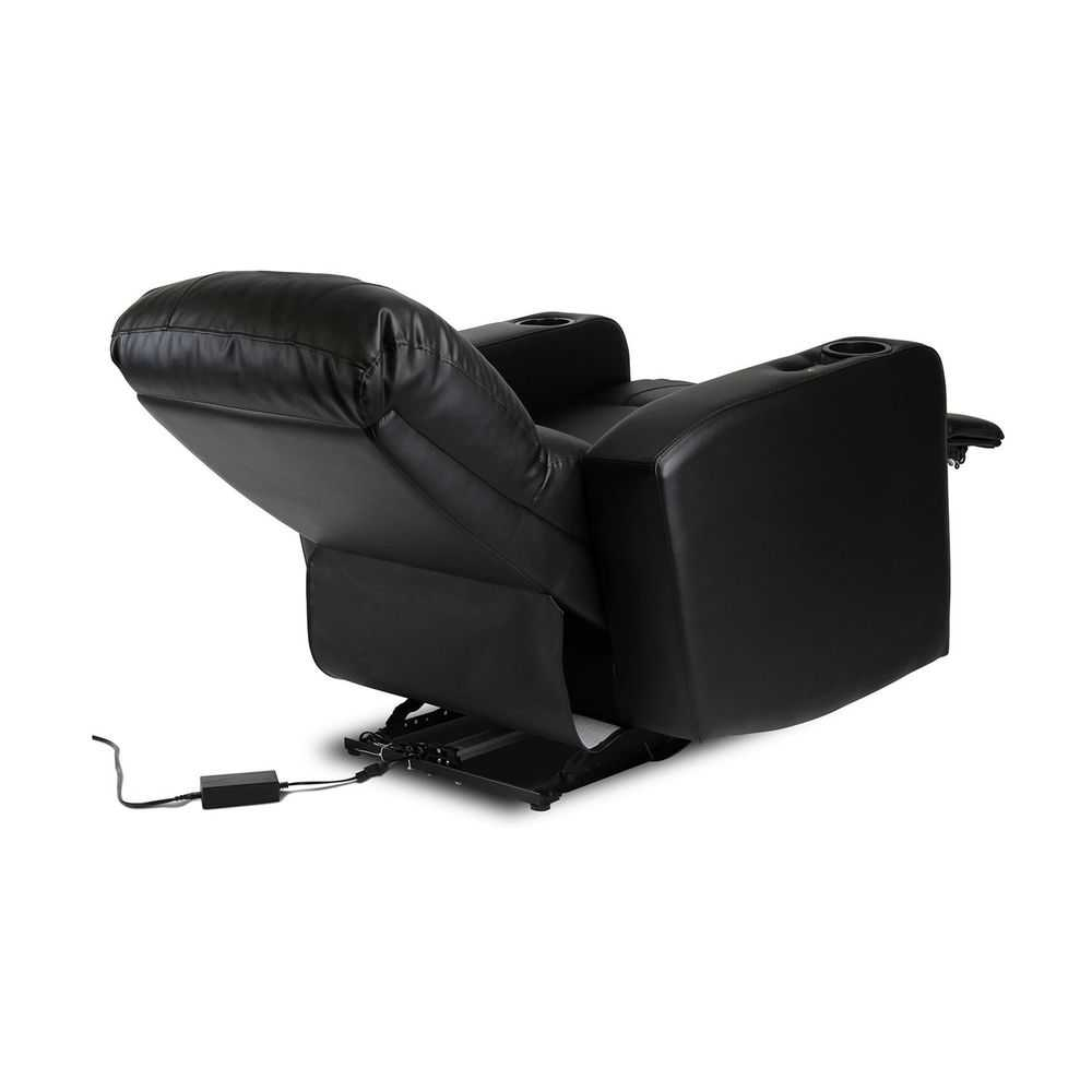 Oakland Raiders Power Theater Recliner With Usb