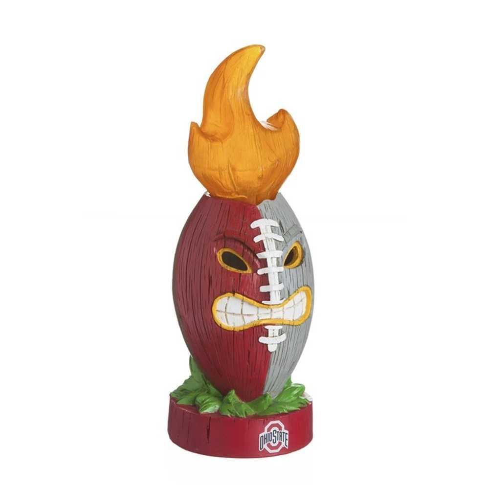 Ohio State Buckeyes Lit Team Football Figurine