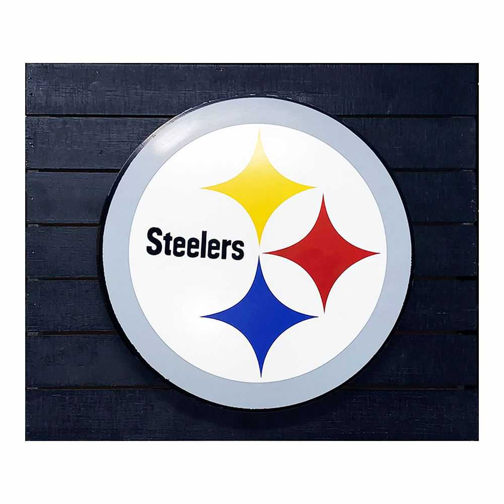 Pittsburg Steelers 3D Lit Wall Sign