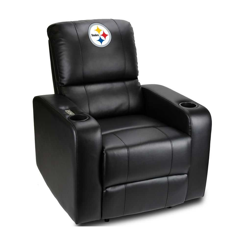 Pittsburgh Steelers Power Theater Recliner With Usb