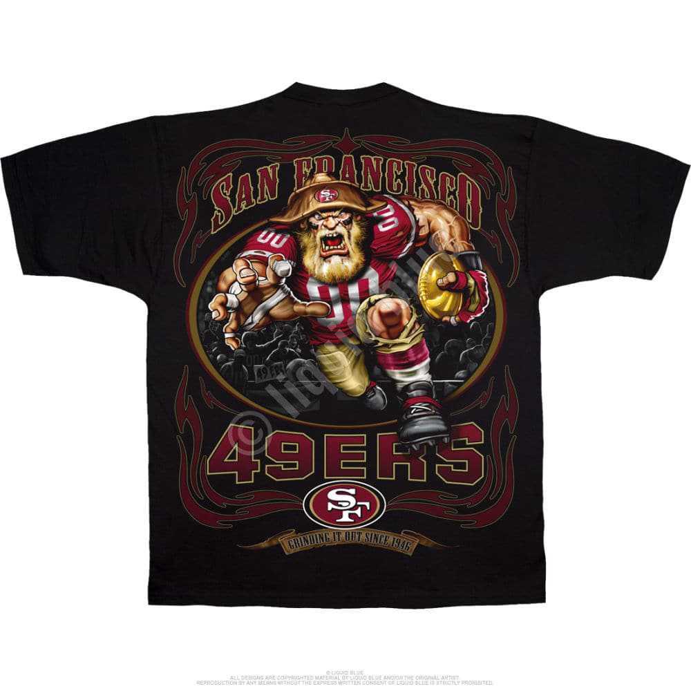 San Francisco 49ers Running Back Tshirt
