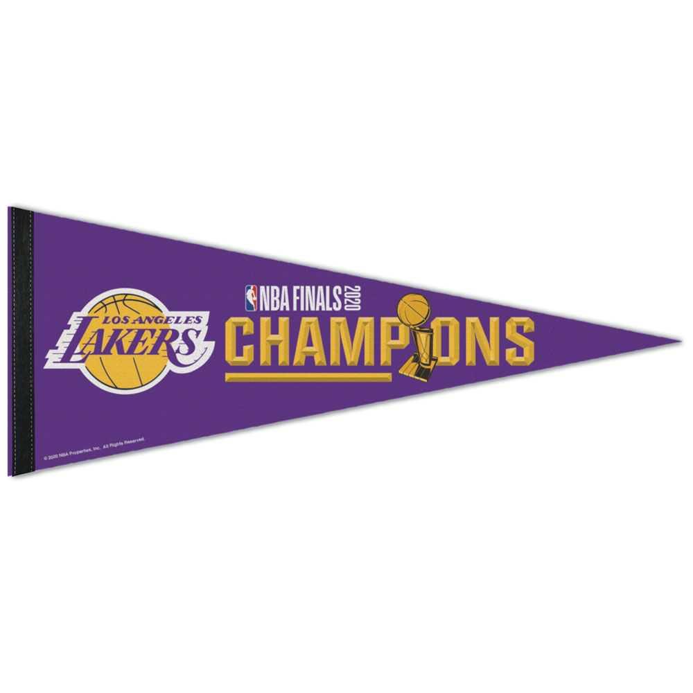 Los Angeles Lakers Championship Premium Pennant