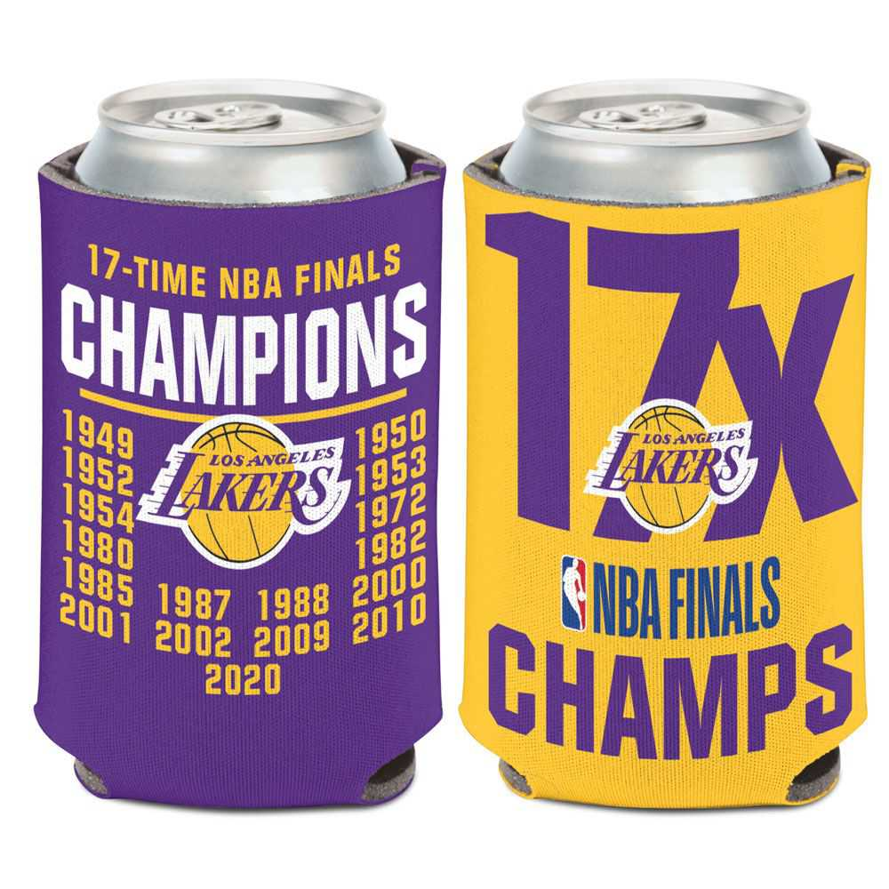 Los Angeles Lakers Championship 2X Can Cooler