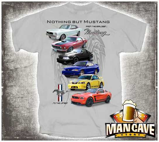 1964-2012 Mustang Collection T-shirt