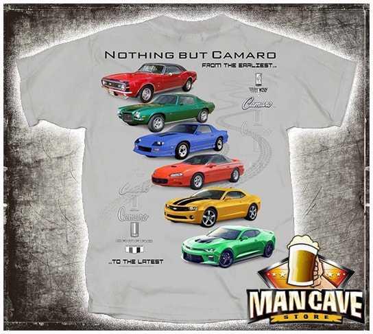 1967-2017 Camaro Collection T-shirt